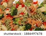 Close Up Of Vegetarian Colorful ...