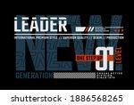 leader the new generation ... | Shutterstock .eps vector #1886568265