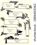 set of presentation templates.... | Shutterstock . vector #1886603362