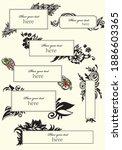 set of presentation templates.... | Shutterstock .eps vector #1886603365