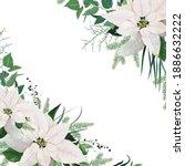 vector elegant greeting card ... | Shutterstock .eps vector #1886632222