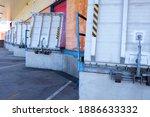 Truck loading docks at...