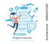 project life cycle concept....   Shutterstock .eps vector #1886654185