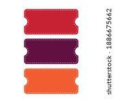 coupon voucher discount ticket...   Shutterstock .eps vector #1886675662