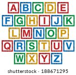 vector of wooden children's...