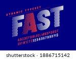 dynamic alphabet design ... | Shutterstock .eps vector #1886715142