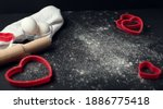 Red Heart Shaped Baking Tins...