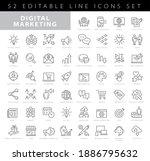 set of marketing icons  seo ...