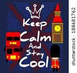 British Keep Calm With England...
