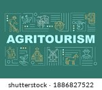 agritourism word concepts...
