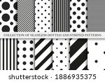collection of vector geometric... | Shutterstock .eps vector #1886935375