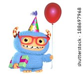 3d cartoon monster | Shutterstock . vector #188697968