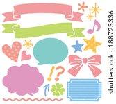 crayons | Shutterstock .eps vector #188723336