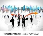 business team  | Shutterstock . vector #188724962