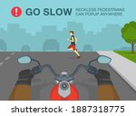 hands driving a motorcycle on a ... | Shutterstock .eps vector #1887318775