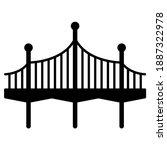 Bridge Icon In Modern...