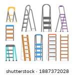 metal  plastic and wooden... | Shutterstock .eps vector #1887372028
