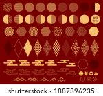 traditional asian abstract...   Shutterstock .eps vector #1887396235