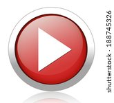 media player button | Shutterstock .eps vector #188745326