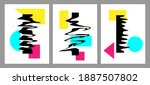 vector illustration. minimalist ... | Shutterstock .eps vector #1887507802