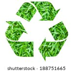 the international recycle... | Shutterstock . vector #188751665