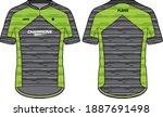 sports t shirt jersey design... | Shutterstock .eps vector #1887691498