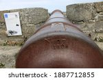 18 Th Century Cannon On A...