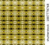Gray Geo Texture. Gold Batik....