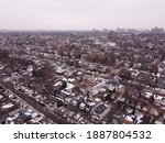 An Aerial Drone Picture Of The...