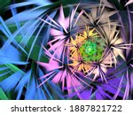Abstract Fractal Spiral...