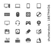 computer flat icons | Shutterstock .eps vector #188794436