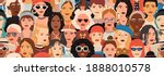 seamless pattern with female... | Shutterstock .eps vector #1888010578