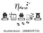 birth stats icons. birth... | Shutterstock .eps vector #1888039732