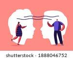 empathy  open mind  emotional...   Shutterstock .eps vector #1888046752