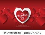 festive card for happy... | Shutterstock .eps vector #1888077142