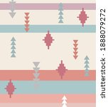 tribal pattern textile print... | Shutterstock .eps vector #1888079272