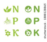 N  P  K Icons Set  ...