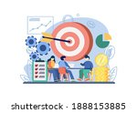business strategy concept....   Shutterstock .eps vector #1888153885
