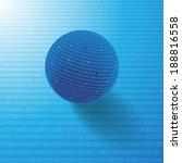 binary code background | Shutterstock .eps vector #188816558
