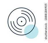 vinyl record  lp record vector...