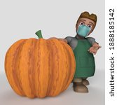 3d render of cartoon shop...   Shutterstock . vector #1888185142