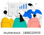 brainstorm  negotiations ... | Shutterstock .eps vector #1888220935