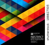 abstract geometric shapes and...   Shutterstock .eps vector #188827505