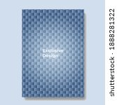 minimal covers design with... | Shutterstock .eps vector #1888281322