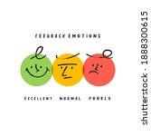 various round feedback emotions....   Shutterstock .eps vector #1888300615