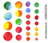 abstract watercolor background   Shutterstock .eps vector #188832056