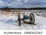 A Photo Of A Civil War Cannon...