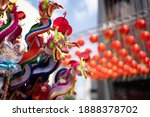 Chinese Dragon Puppet Made From ...