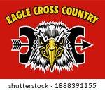 eagle cross country team design ... | Shutterstock .eps vector #1888391155