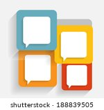 infographic business template... | Shutterstock .eps vector #188839505